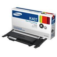 Toner Samsung CLT-K4072S/ELS, CLP-320, CLP-325, CLX-3185, black, SU128A, originál
