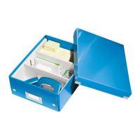 Archivační organizační box Leitz Click-N-Store S (A5), modrý