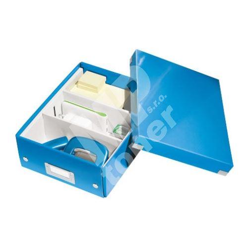 Archivační organizační box Leitz Click-N-Store S (A5), modrý 1