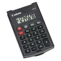 Kalkulačka Canon AS-8, šedá, stolní, osmimístná