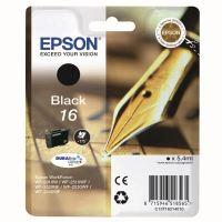 Inkoustová cartridge Epson C13T16214012, WF-2540WF, WF-2520NF, black, 16, originál