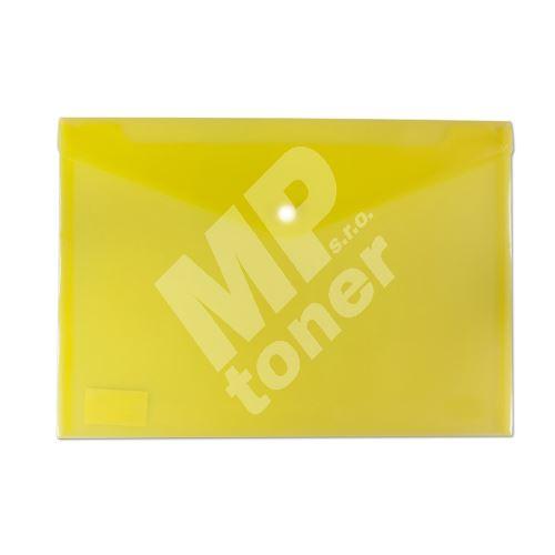 Deska spisová Auro s drukem A4 žlutá 2