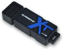64GB Patriot Supersonic Boost Flash drive, USB flash disk 3.0, černá