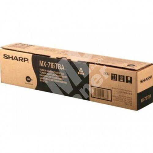 MX-71GTBA, black, 42000str., Sharp MX 6201 1