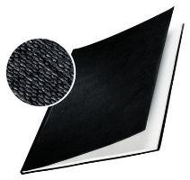 Tvrdé desky Leitz impressBIND, 15 - 35 listů, černé, balení 10 ks