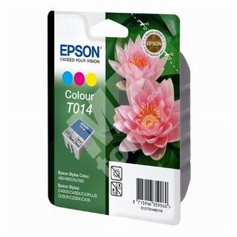 Inkoustová cartridge Epson C13T014401 barevná, originál