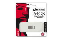 Kingston 64GB Data Traveler micro, USB flash disk 3.1/3.0, stříbrná 5