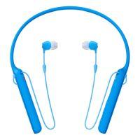 Sluchátka Sony WIC400L bezdrátová, modrá