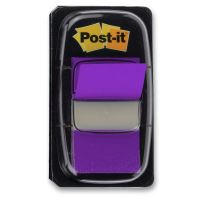 Záložka Post-It 25,4mm x 43,2mm 3M, 1bal/50ks fialová