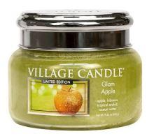 Village Candle Vonná svíčka ve skle - Glam Apple, 11oz