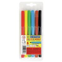 Popisovače Centropen 7550 TP vypratelné Colour World 1