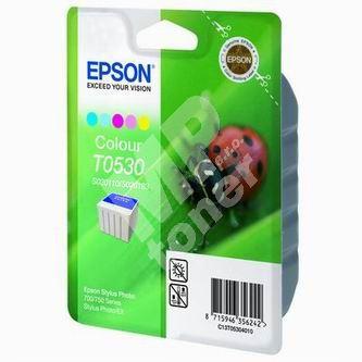 Inkoustová cartridge Epson C13T053040, Stylus Photo 700, 750, barevná, originál