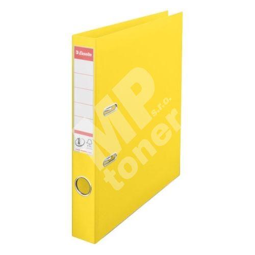 Pákový pořadač Esselte No. 1 Power PVC A4 50 mm VIVIDA, žlutý 1