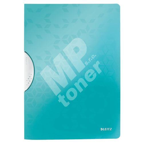 Desky s klipem Leitz WOW, PP, ledově modré 1
