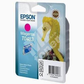 Inkoustová cartridge Epson C13T048340 červená, originál