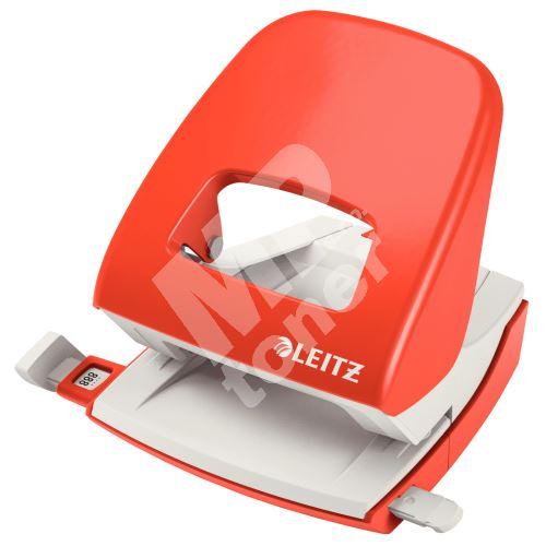 Stolní děrovač Leitz NeXXt 5008, 30 listů, světle červený 1