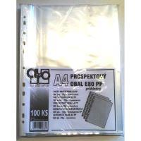 Obal A4 prospektový E80 80mic, 1bal/100ks