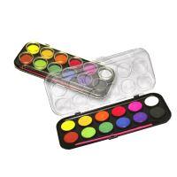 Vodové barvy Centropen 9540, 12 barev, 30mm