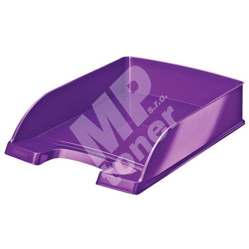 Odkladač Leitz WOW Plus, purpurový 1