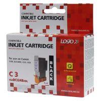Kompatibilní cartridge Canon BCI-24BK černá, LOGO, TB