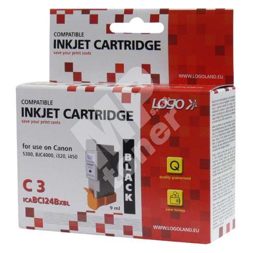 Cartridge Canon BCI-24BK, Logo 1