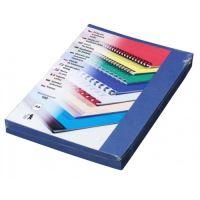 Kartónové desky pro zadní strany Delta A4, 230g, královská modrá, 100 ks