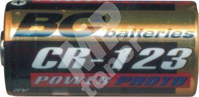 Baterie lithiová válcová Photo 3V baterie Gold BC CR123