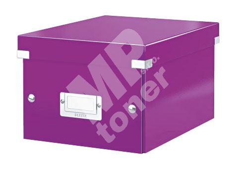 Archivační krabice Leitz Click-N-Store S (A5) wow, purpurová 1