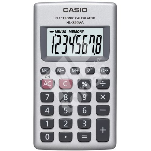 Kalkulačka Casio HL 820 VA 1