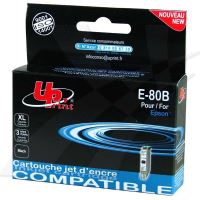 Kompatibilní cartridge Epson T080140, R625, RX560, R360, black, UPrint