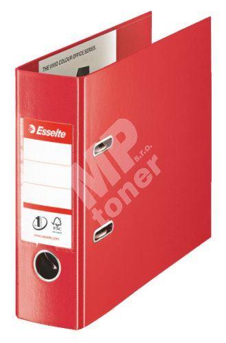 Pákový pořadač Esselte No. 1 Power z PVC A5 75 mm VIVIDA Oblong, červený 1