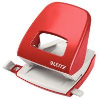 Celokovová stolní děrovačka Leitz New NeXXt 5008, červený