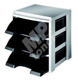 Stohovací systém Leitz PLUS, černý 1