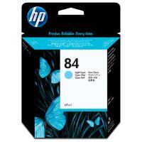 Inkoustová cartridge HP C5017A světle modrá, No. 84 originál