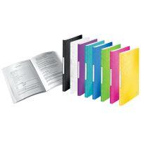 Katalogová kniha Leitz WOW, 40 kapes, černá 3