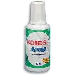Opravný lak Kores Aqua 20ml, se štětečkem