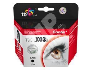 Kompatibilní cartridge Canon BX-3 černá, TB, MP print