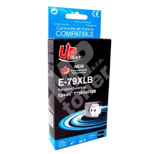 Cartridge Epson C13T79014010, 79XL, black, UPrint 1