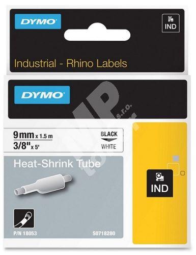 Páska Dymo 1,5m x 24mm, černý tisk/bilý podklad, 1805443 1