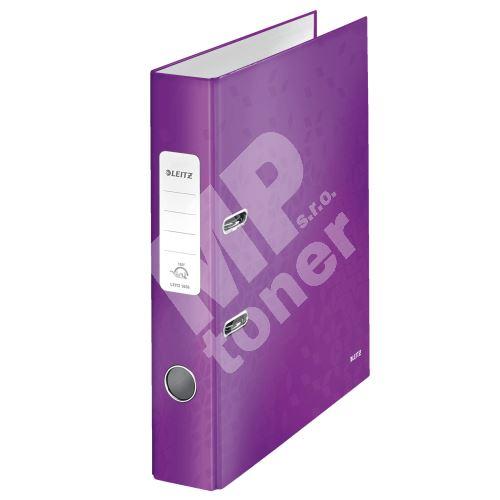 Pákový pořadač 180 Wow, purpurová, 52 mm, A4, PP/karton, LEITZ 1