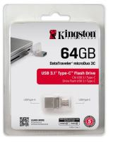 Kingston 64GB DT microDuo 3C, USB 3.0/3.1 + Type-C 5