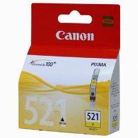 Inkoustová cartridge Canon CLI-521Y, žlutá, originál