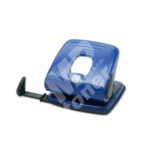 Děrovač Sax 418, modrý 1