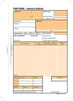 Faktura A5, samopropisovací, 100 listů, OP1072 2