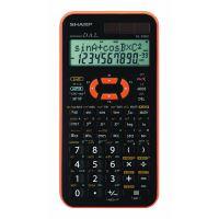 Kalkulačka Sharp EL-506XYR, černo-oranžová, vědecká