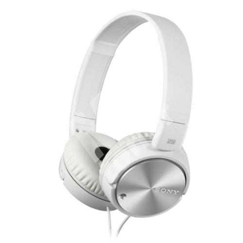 Sony sluchátka MDR-ZX110 s Noise canceling, bílé 1