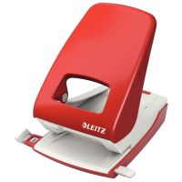 Celokovová výkonná děrovačka Leitz NeXXt 5138, červený
