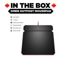 Podložka pod myš HP OMEN by HP Outpost nabíjecí Qi, herní, černá, 346x344 mm, 10.5 mm 8
