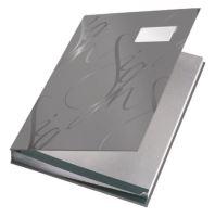 Podpisová kniha designová Leitz, šedá