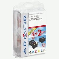 Cartridge Epson C13T080740 sada, CMYK PC,PM, Armor 1